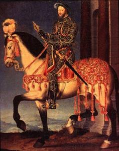 Francois-le-1er-a-cheval-BlogOuvert